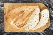 Sliced White Long Loaf