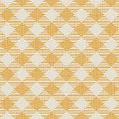 Seamless texture of yellow plaid