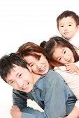 Japanese family of four