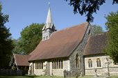 St. Peters Church At Wherwell. Hampshire. England