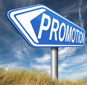 promotions in job or product promotion