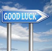 good luck having a lucky day, best wishes good fortune