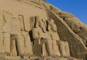 Temple Of Ramesses Ii, In Abu Simbel, Egypt