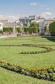 Mirabell Garden (mirabellgarten) At Salzburg, Austria