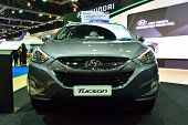 Nonthaburi - December 1: Hyundai Tucson Suv Car Display At Thailand International Motor Expo On Dece