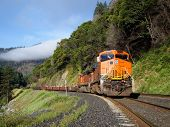 Feather River Freight Train