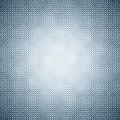 Abstract illustration texture of dark grey, blue and light black smooth brushed metal background with spotlight in the center