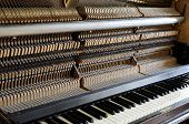 Inside The Piano: String, Pins And Hammers