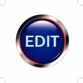 Edit shiny blue button