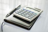 foto of ballpoint  - A Calculator - JPG