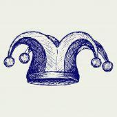 stock photo of jestering  - Jester hat - JPG
