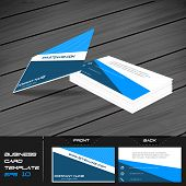 image of visitation  - Business card or visiting card template - JPG
