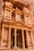 stock photo of treasury  - Jordan Petra - JPG