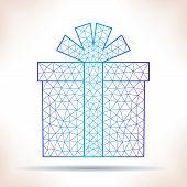 stock photo of interpreter  - Geometric gift - JPG
