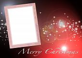Ilustration Of Christmas Card To Add Your Picture