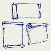picture of scroll  - Old scroll - JPG