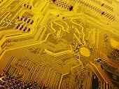 Close Up Of Circuit Boards