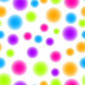 seamless tillable neon dots pattern