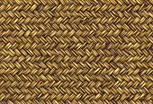 golden abstract woven straw wicker background texture