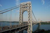 George Washington Bridge From The New Jersey Side