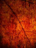 Grunge leaf background