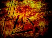 High voltage, grunge background