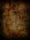 Dark grunge rusty background