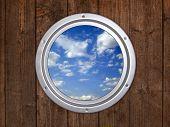 illuminator, blue cloudy sky