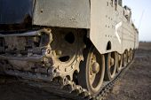 caterpillar of tank Merkava