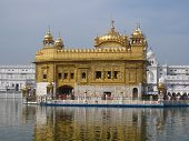 foto of harmandir sahib  - Golden temple in Amritsar  - JPG