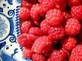 Raspberries Close Up