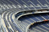 Qualcomm Stadium in San Diego, California, home of the NFL Chargers footbal team