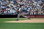June 22nd, 2008 - Detroit Tiger's Pitcher Justin Verlander taken at Petco Park during a game with th