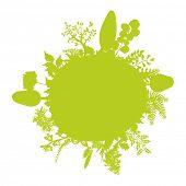 green little summer earth