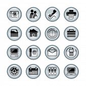 Vector media icons