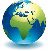 stock photo of world-globe  - World globe  - JPG