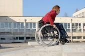 Wheelchair Ride Practice