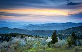 Scenic Blue Ridge Parkway Appalachians Smoky Mountains Spring Landscape
