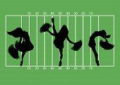 Cheerleaders Football 1