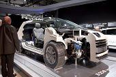 Brussels, Auto Motor Expo Peugeot 3008 Hybrid4