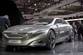 Brussels, Auto Motor Expo Peugeot Hx1 Concept Car