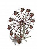 Ferris Wheel 3D Render