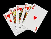 picture of flush  - Playing cards  - JPG