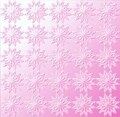Star Pattern - Light Pink
