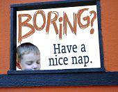 Boring? Have A Nice Nap.