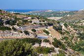 Mountain Road On The Island Of Crete