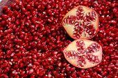 Pomegranates And Seeds