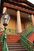 Stairway To Daughters Of Confederacy Building In Charleston, South Carolina
