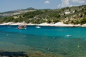 Постер, плакат: Алики пляж на острове Тасос Греция