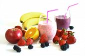 Smoothies And Fresh Fruits